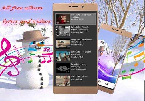 Anthony Romeo Santos-musica  letras - Imitadora screenshot 5