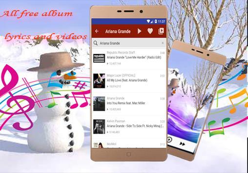 Ariana Grande-All Song & lyrics-Side to Side screenshot 5