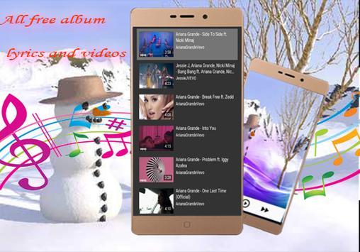 Ariana Grande-All Song & lyrics-Side to Side screenshot 6