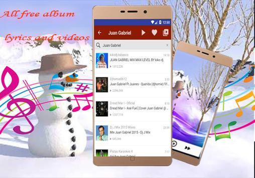 Juan Gabriel-músicas y letras-Hasta Que Te Conocí apk screenshot