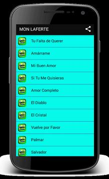 Mon Laferte Tu Falta de Querer 2017 apk screenshot