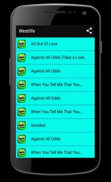 Westlife Musica Songs and Lyrics apk screenshot