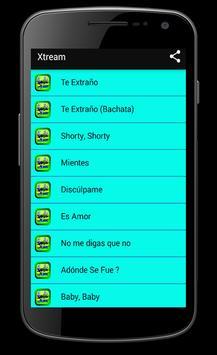 Musica Xtreme Songs apk screenshot