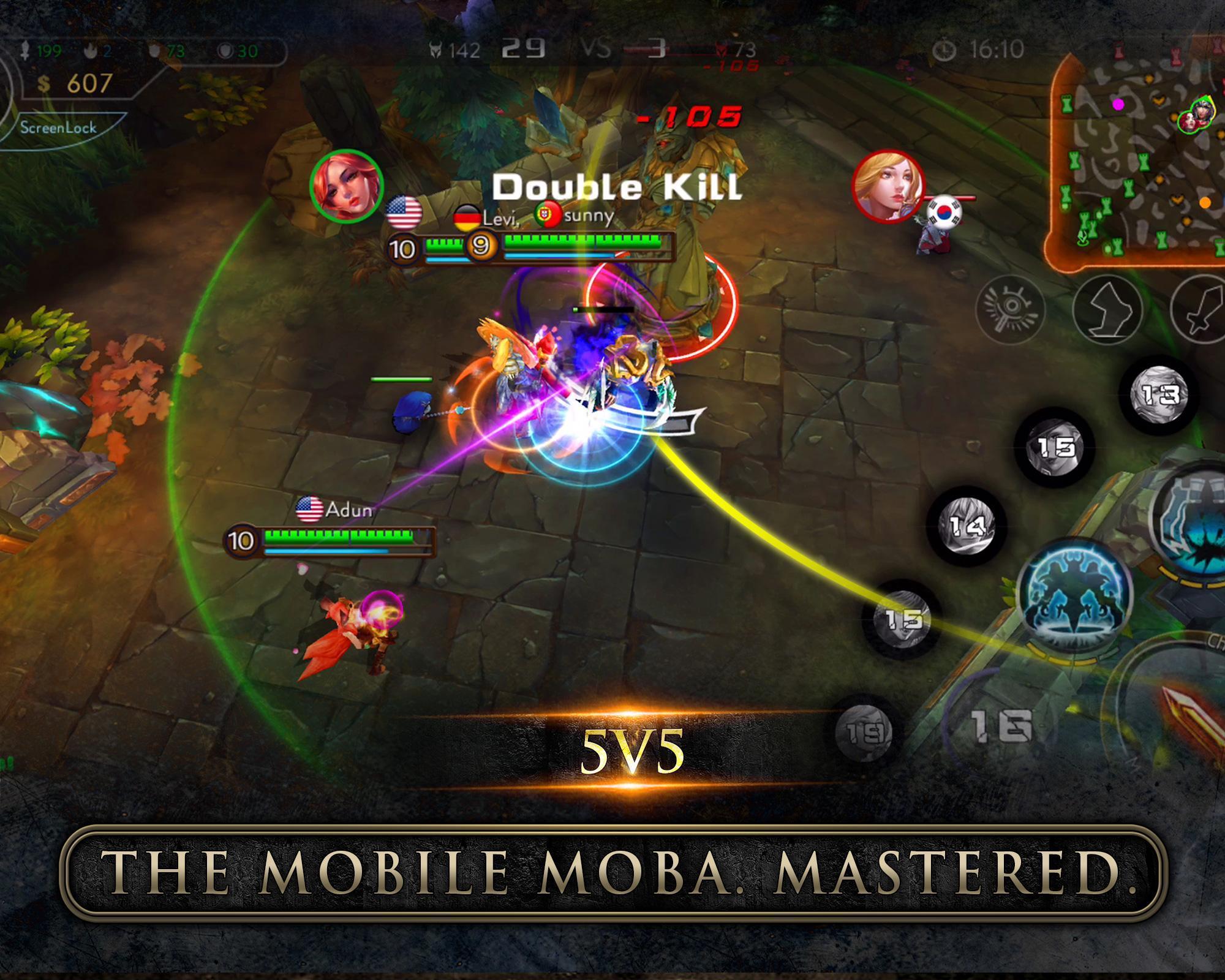 Download Game Moba Offline 5v5