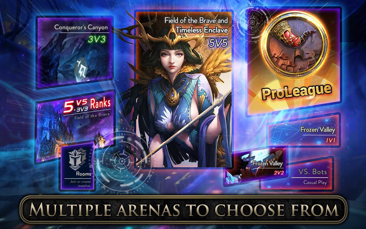 ace of arenas game
