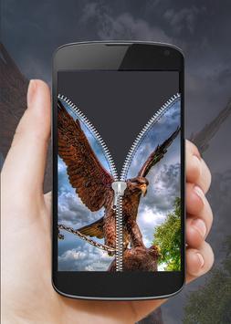 Eagle Zip Screen Lock apk screenshot