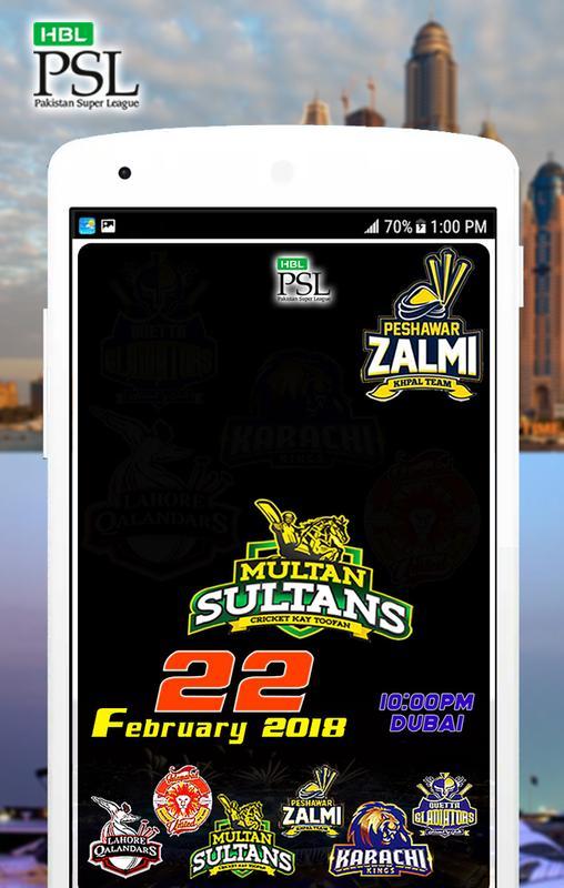 Psl 2018 Cricket Apk Download Free Sports App For