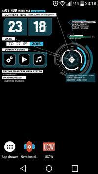 combatOS - UCCW Clock apk screenshot