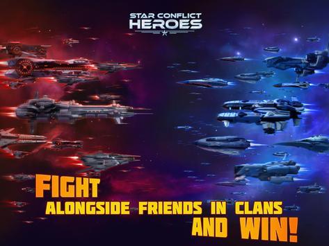 Star Conflict Heroes постер