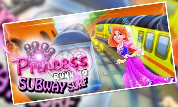 Christmas Princess Runner in Surfs Endless Temple! poster