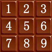 Chocolate Numbers icon