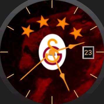 Galatasaray Themed Watch Face poster