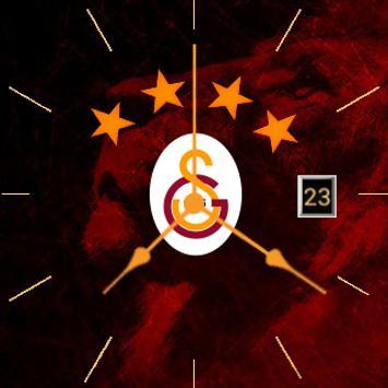 Galatasaray Themed Watch Face apk screenshot
