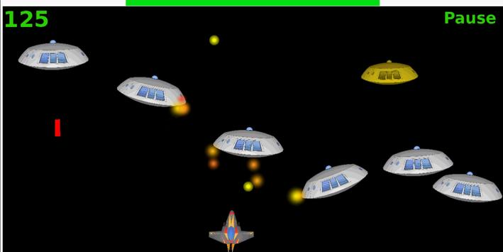 Alien Colliders, Space Shooter poster