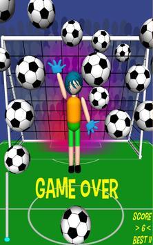 Goofy Goalie soccer game apk screenshot