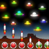 Neon UFO Invaders icon