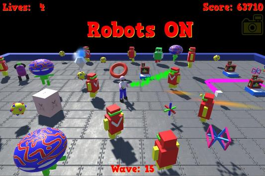 Robots ON poster