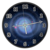 Galaxy Analog Clock Live Wallpaper icon