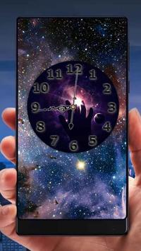 Galaxy Analog Clock Live Wallpaper screenshot 4