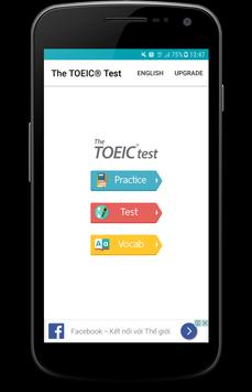 The Toeic® Test poster