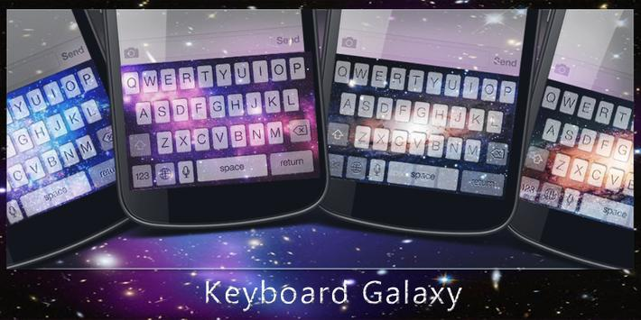 Keyboard Galaxy poster