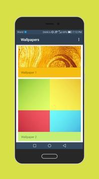 Galaxy Launcher and Theme: Wallpaper screenshot 1