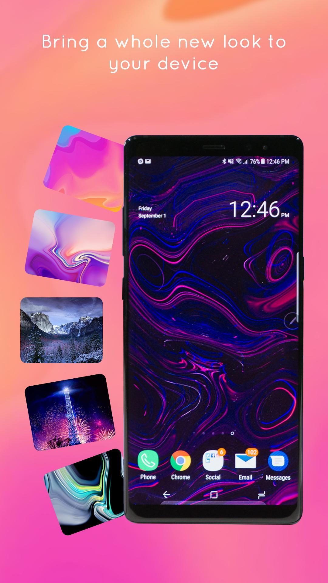 Galaxy Note 9 Launcher for Android - APK Download