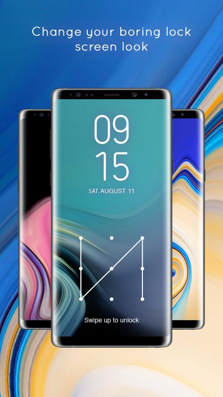 Samsung Note 9 Change Lock Screen Wallpaper