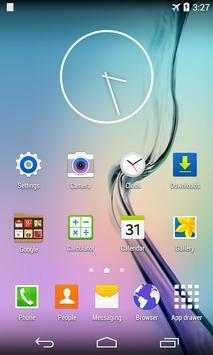 S Launcher for Galaxy TouchWiz Cartaz