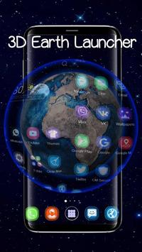 Tema 3D Galaxy Space Earth screenshot 1