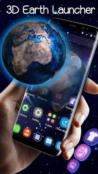 Tema 3D Galaxy Space Earth screenshot 2