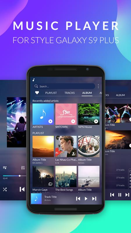 free music player 2018 mp3 player style galaxy s9 for. Black Bedroom Furniture Sets. Home Design Ideas