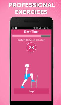 Female Fitness workout apk screenshot