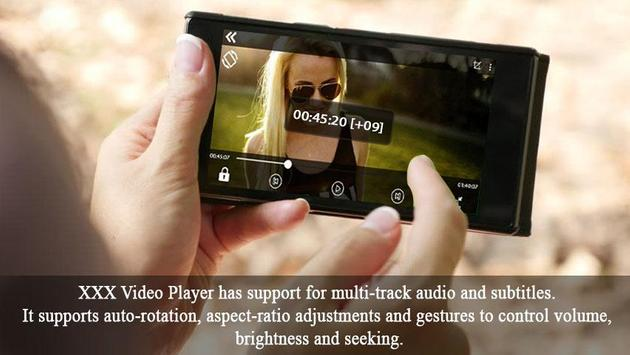 XXX Video Player apk screenshot