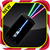 Laser pointer flashlight Prank icon