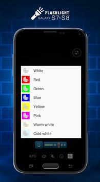 S8 Flashlight apk screenshot