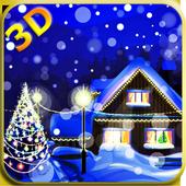 3D Christmas Live Wallpaper icon