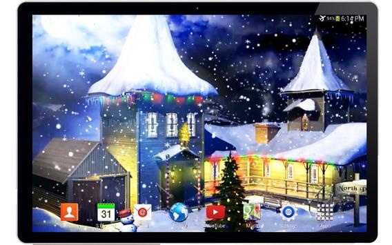 3D Christmas Live Wallpaper screenshot 3