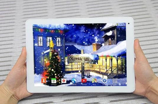 3D Christmas Live Wallpaper poster