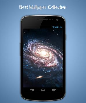 Galaxy Live Wallpaper screenshot 1