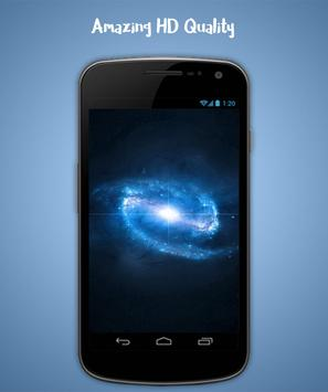 Galaxy Live Wallpaper screenshot 2