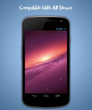 Galaxy Live Wallpaper screenshot 3