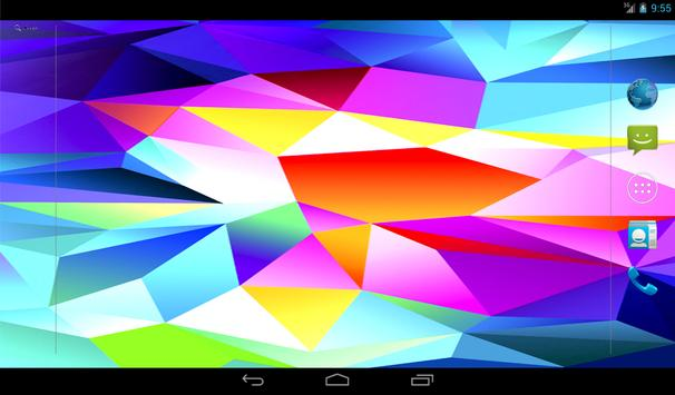 Galaxy S5 Live Wallpaper Apk Screenshot