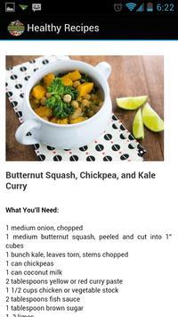 Healthy Cooking Recipes apk screenshot