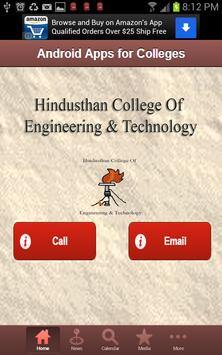 hindusthan clg of engg& Tech screenshot 1