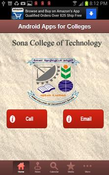 Sona College of Technology screenshot 1
