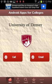 University of Denver screenshot 1