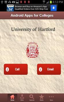 University of Hartford screenshot 1