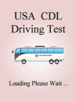Alabama CDL Driving Test poster
