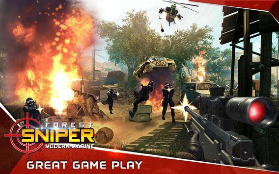 Modern sniper Elite Marine poster